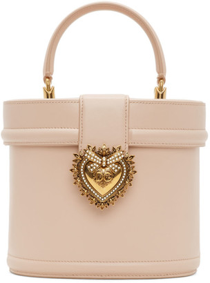 Dolce & Gabbana Pink Devotion Top Handle Bag