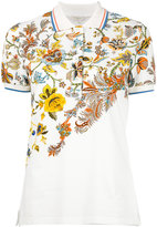 Etro floral print polo shirt - women - Cotton/Spandex/Elastane - 44