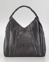 Nancy Gonzalez Braid-Strap Hobo Bag