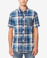 Buffalo David Bitton Men's Saugo- X Denim-Pocket Plaid Shirt