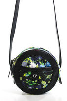 Charlotte Ronson Multicolored Floral Print Cross body Leather Handbag