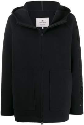 Woolrich short hooded jacket