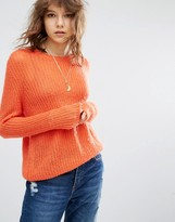 Maison Scotch Maison Scoth Coral Knitted Sweater