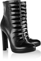 Alaia Cutout leather ankle boots
