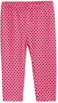 First Impressions Dot-Print Leggings, Baby Girls, Only at Macy's