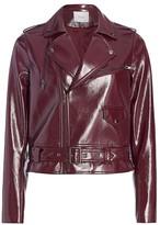 Parker Cooper Faux Leather Moto Jacket