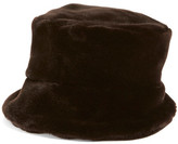 Dena Faux Fur Bucket Hat