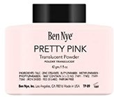 Ben Nye Translucent Face Powder Pretty Pink 1.5oz/42 Gm/bottle