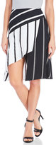 Finders Keepers Overlay Stripe Skirt