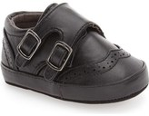 Kenneth Cole New York 'Baby Club' Monk Strap Crib Shoe (Baby)