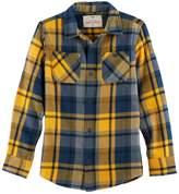 Urban Pipeline Boys 8-20 Urban Pipeline® Ultimate Regular-Fit 2-Pocket Flannel Button-Down Shirt
