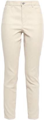 Theory Bristol Stretch-leather Skinny Pants
