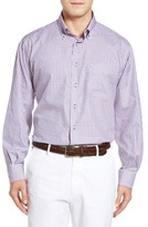 Robert Talbott Men's Estate Classic Fit Check Sport Shirt