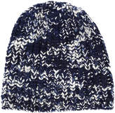 The Elder Statesman pattern knit beanie
