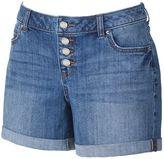 JLO by Jennifer Lopez Women's Cuffed Boyfriend Shorts