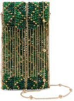 Rosantica Dakota Beaded Clutch - Green