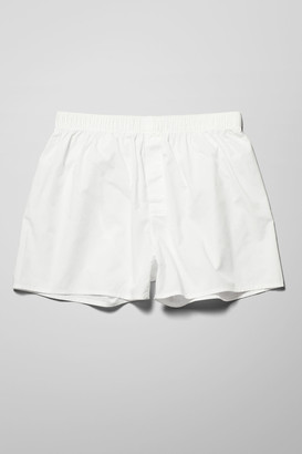 Weekday Kronos Woven Boxers - White
