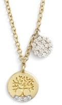 Meira T Women's Meirat 'Tree Of Life' Diamond Pendant Necklace