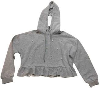 Gaelle Bonheur Grey Cotton Knitwear for Women