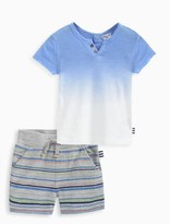 Splendid Baby Boy Dip Dye Tee and Short