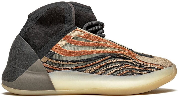 Yeezy QNTM 'Flash Orange' sneakers