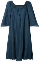 NSF flared denim dress - women - Cotton - S