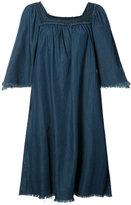 NSF flared denim dress - women - Cotton - S