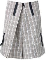 Raf Simons kilt shorts