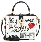 Dolce & Gabbana Dolce Box embellished leather bag