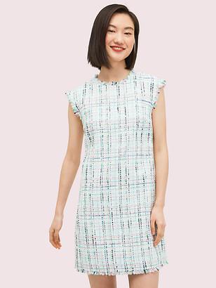 Kate Spade Pastel Tweed Shift Dress