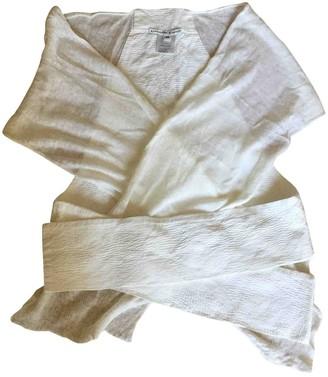 Liviana Conti White Linen Knitwear for Women