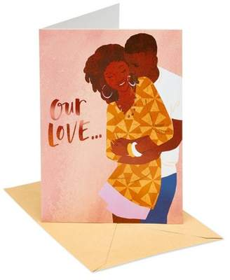 """Carlton Cards """"Our Love"""" Thinking of You Greeting Card"""