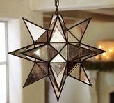 Pottery Barn Oversized Morovian Star Pendant