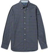 Polo Ralph Lauren Slim-fit Button-down Collar Checked Cotton-poplin Shirt - Green