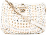 Sonia Rykiel embellished shoulder bag - women - Lamb Skin - One Size