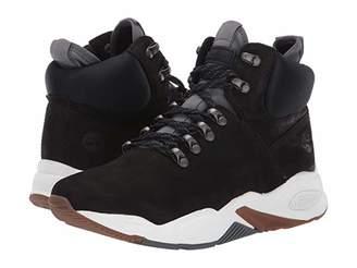 Timberland Delphiville High Top Sneaker (Black Nubuck) Women's Shoes