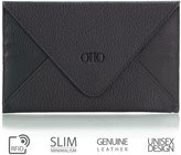 OTTO Leather Otto Genuine Leather Wallet |Multiple Slots Money, ID, Cards, Smartphone| Unisex