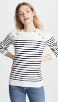 Petit Bateau Miro Striped Cotton Sweater