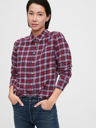 Gap Everyday Flannel Shirt