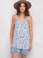 MinkPink New Women's Primrose Cottage Playsuit