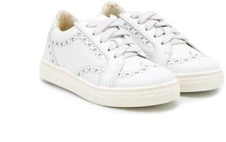 Montelpare Tradition TEEN perforated low-top sneakers