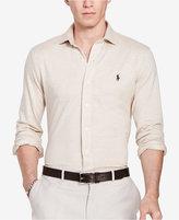 Polo Ralph Lauren Men's Herringbone Knit Dress Shirt