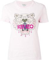 Kenzo tiger print T-shirt - women - Cotton - L