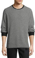 Ovadia & Sons Striped-Knit Wool Sweater