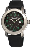 Breed Silver & Olive Zigfield Colored-Case Swiss Watch