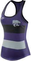 Nike Women's Kansas State Wildcats Stripe Tank Top