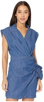7 For All Mankind Blazer Dress w/ Ruffle (Pacific Street) Women's Clothing
