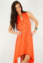 Ero Dress in Mango - by Rebecca Minkoff