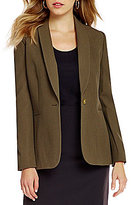 Preston & York Desiree Brushed Stretch Pique Suiting Jacket