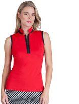 Women's Tail Becky Quarter-Zip Sleeveless Golf Polo